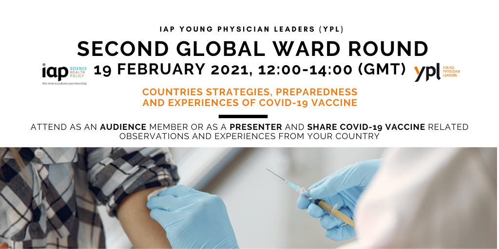 IAP Young Physician Leaders (YPL) Second Global Ward Round