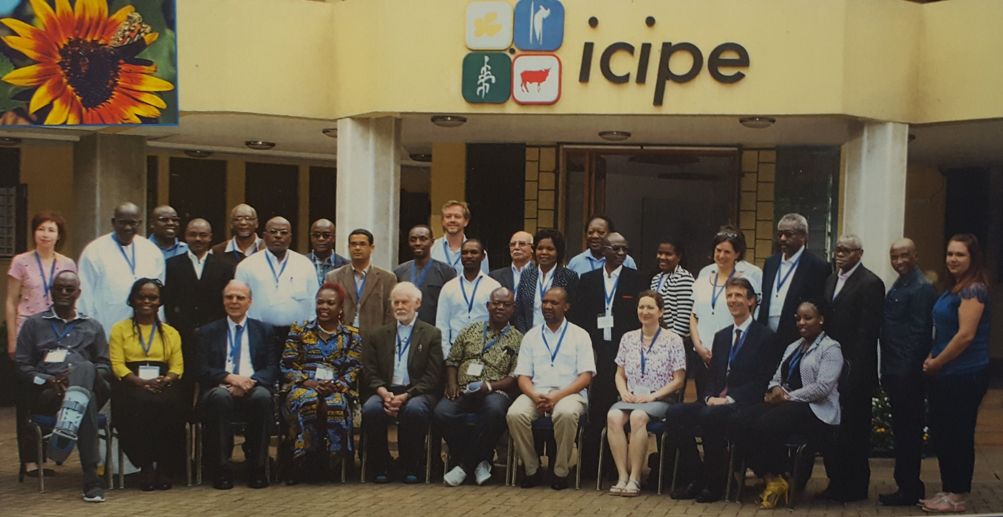 Group photo at ICIPE