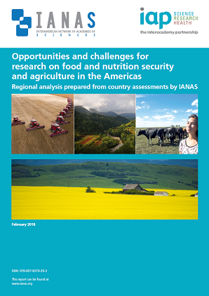 Opportunities and Challenges for Research on Food and Nutrition Security and Agriculture in Ameticas Report Cover