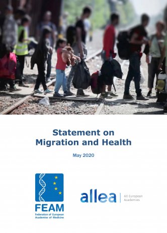 FEAM-ALLEA Statement on Migration and Health cover