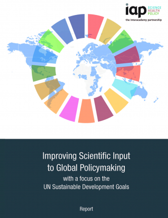Final report COVER JPG: Improving Scientific Input