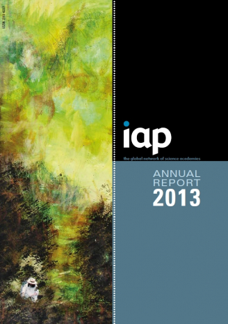IAP Annual Report 2013 cover