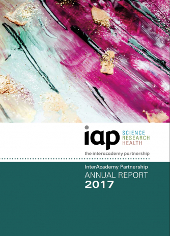 IAP annual report 2017 cover
