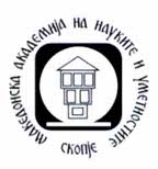 Macedonian Academy of Sciences and Arts Logo