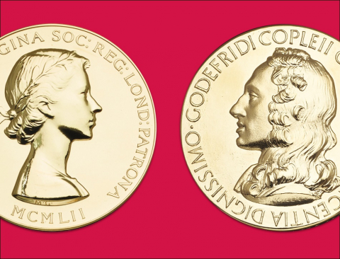Royal Society medals and awards
