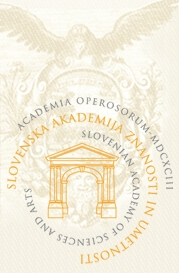 Slovenian Academy of Sciences and Arts Logo