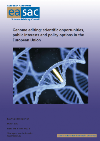 genome editing: scientific opportunities cover