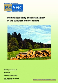 Multi-functionality and sustainability in the European Union's forests - cover