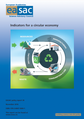 indicators for a circular economy-cover