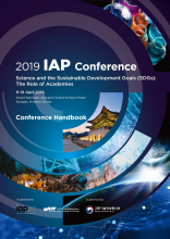 IAP conference Handbook Cover