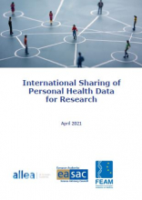 Report International Sharing of Personal Health Data for Research