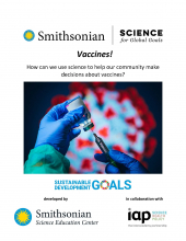 Vaccines! How can we use science to help our community make decisions about vaccines?