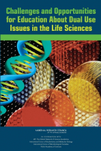 Challenges and Opportunities for Education About Dual Use Issues in the Life Sciences  cover