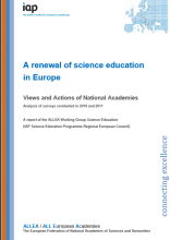 A Renewal of Science education in Europe