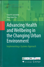 Advancing Health and Wellbeing in the Changing Urban Environment - cover