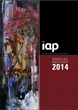 IAP Annual Report 2014 cover