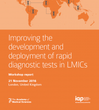 Improving the development and deployment of rapid diagnostic tests in Low and Middle Income Countries - cover
