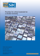 Priorities for critical materials for a circular economy-cover