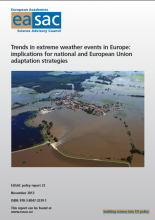 Trends in Extreme Weather Events in Europe