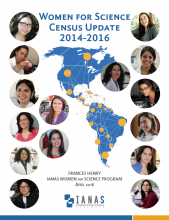 Women for Science_Census Update 2014-2016-cover