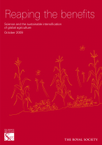 Reaping the benefits: Science and the sustainable intensification of global agriculture cover