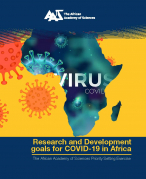 Research and Development goals for COVID-19 in Africa. Cover
