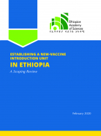 Establishing a New Vaccine Introduction Unit in Ethiopia
