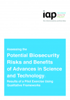 Assessing the Potential Biosecurity Risks and Benefits COVER