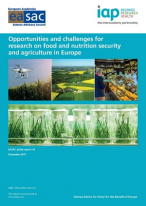 Opportunities and Challenges for Research on Food and Nutrition Security and Agriculture in Europe Report Cover