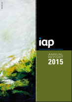 IAP annual report cover