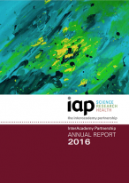 IAP annual report cover 2016