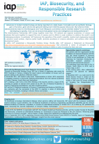 IAP poster on Biosecurity and Responsible Research Practices-cover